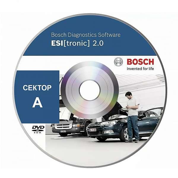 Bosch Esi Tronic подписка сектор A, дополнительная фото