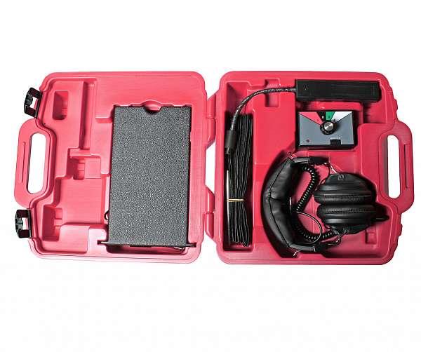 Стетоскоп электронный (наушники, тестер, зажимы, блок управления в комплекте). JTC-1449 купить