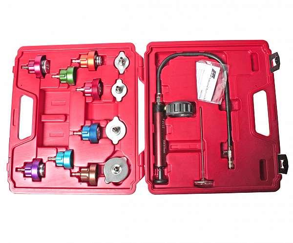 Набор для тестирования герметичности охладительной системы (в кейсе) 14 предметов. JTC-1005 купить