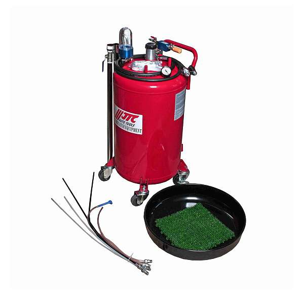 Устройство для слива масла вакуумное, емкость бака 80л. JTC-4819 фото