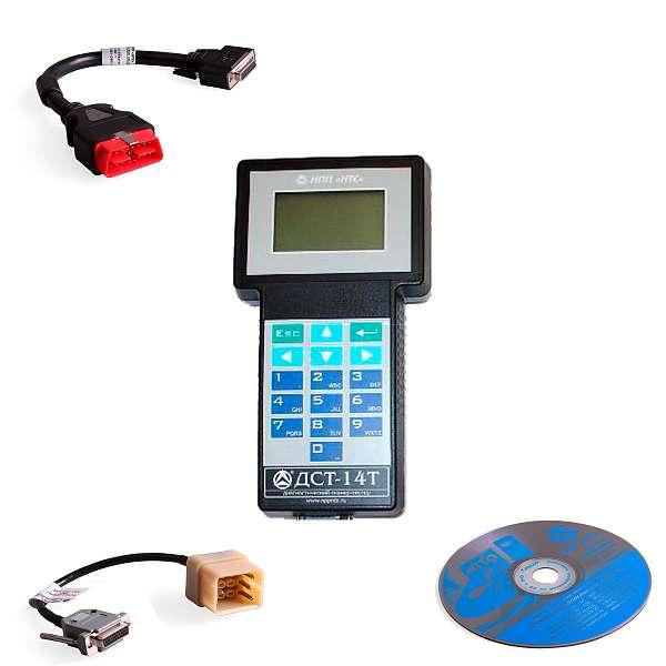 НТС ДСТ-14Т - многофункциональный автосканер (комплектация ДСТ-14Т\НК1) купить в Москва