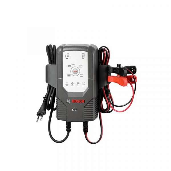 BOSCH C7 - Зарядное устройство для АКБ 12/24В, 018999907M купить