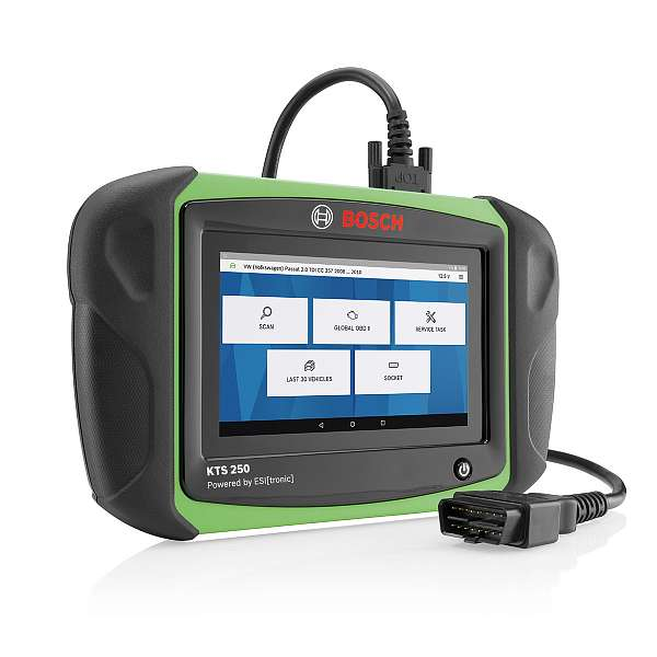 Bosch KTS 250 профессиональный мультимарочный сканер 0684400260 фото