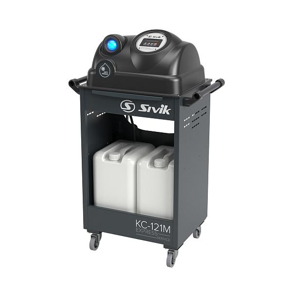 Установка для замены охлаждающей жидкости SIVIK КС-121М фото
