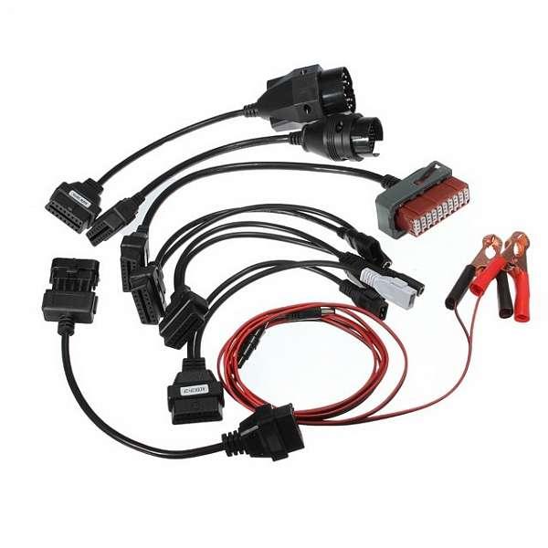 Комплект адаптеров для Delphi DS150e/ Autocom CDP легковые фото
